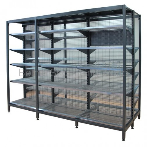 Double Sided Shelving