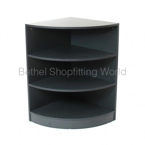 Corner Counter Charcoal Grey
