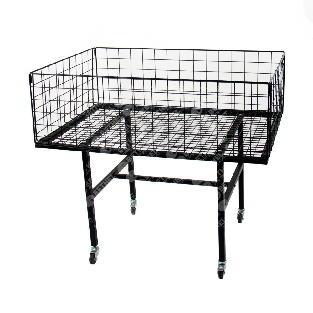 Collapsible Dump Table Black