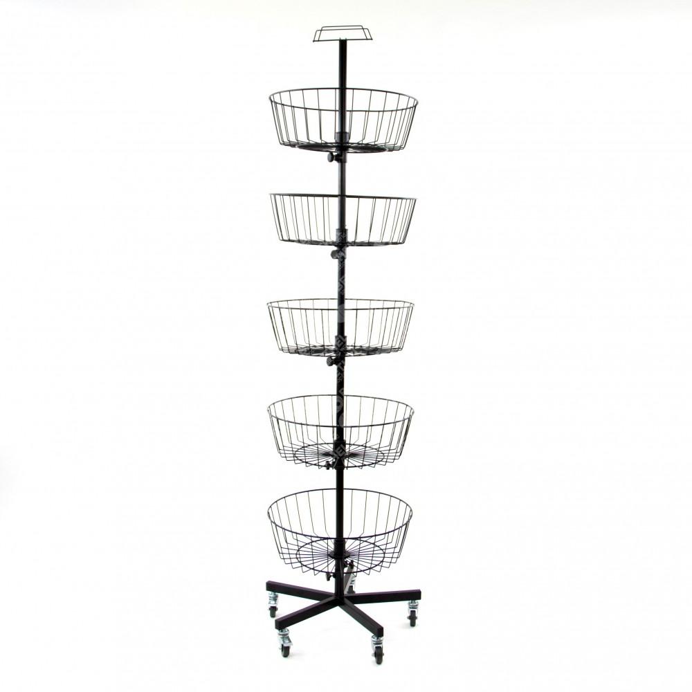 Floor Basket Stand