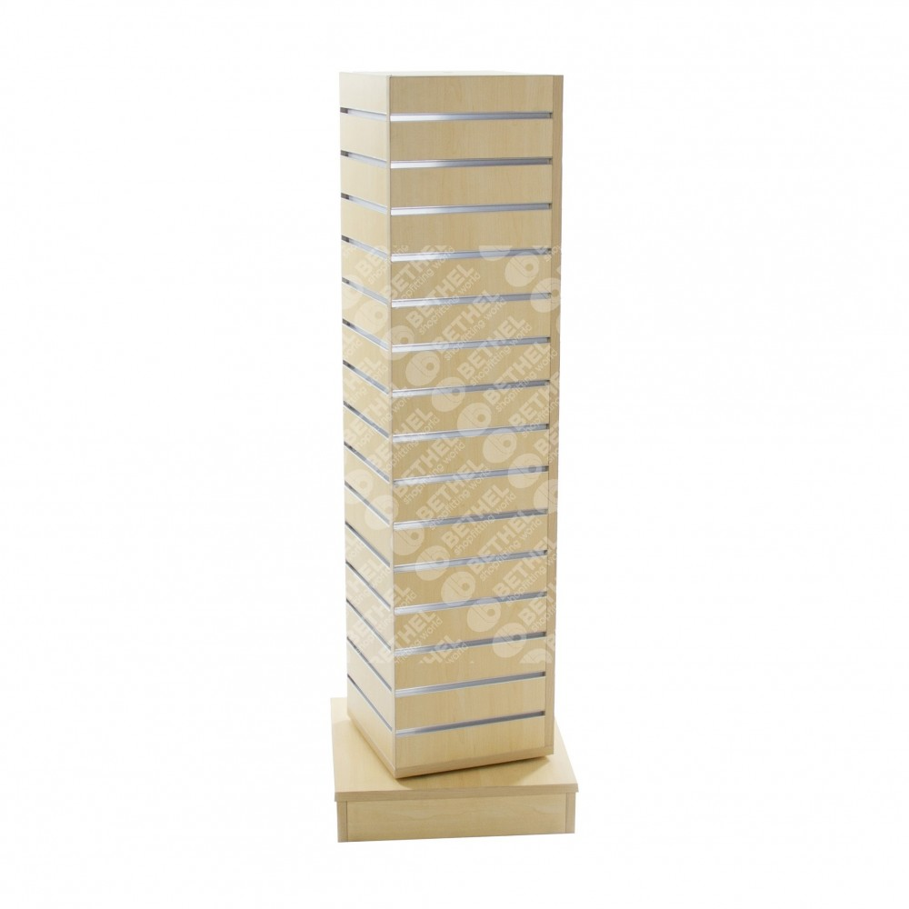 Rotate Slat Panel Stand