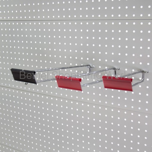 Double Scan Chrome Pegboard Hooks