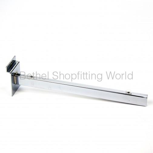 Slat Panel Glass Shelf Bracket With Suction Cups