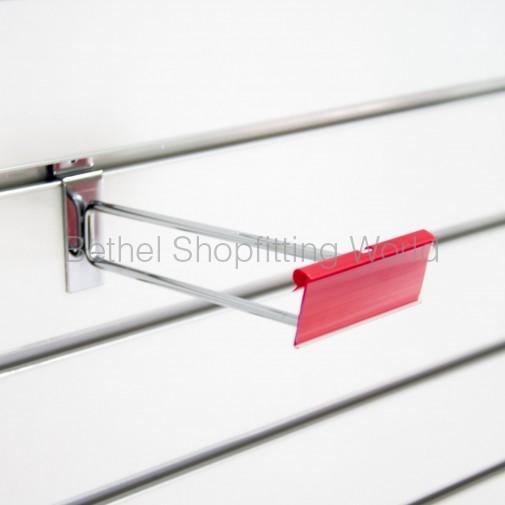 SW115-150mm Scan Chrome Slat Panel Hooks