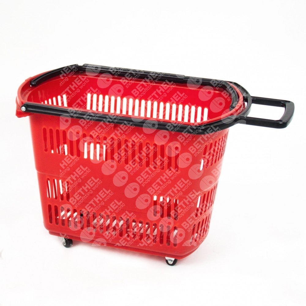 Push Basket on Wheels