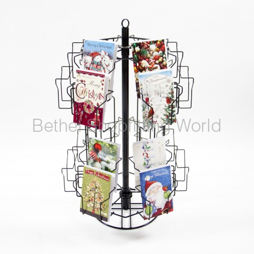 SG-C14 Counter Top Greeting Card Stand 24 Pockets