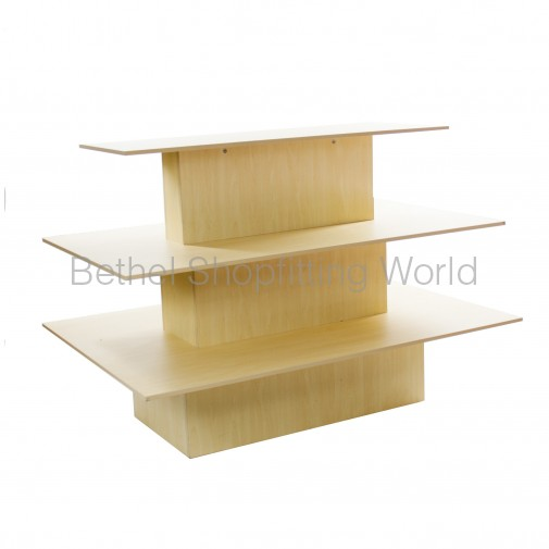 SW707 3 Tier Display Tables - 1200mm
