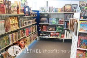 Games Shop Slat Wall Glass Showcases Counters 05
