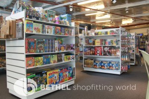 Games Shop Slat Wall Glass Showcases Counters 06