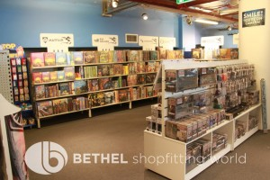 Games Shop Slat Wall Glass Showcases Counters 14
