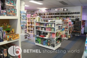 Games Shop Slat Wall Glass Showcases Counters 19
