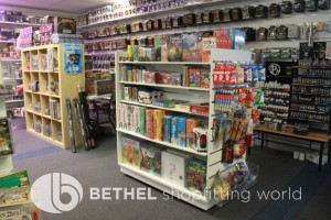 Games Shop Slat Wall Glass Showcases Counters 22
