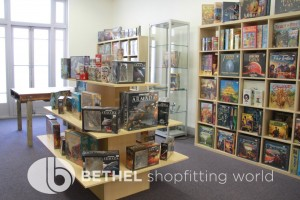 Games Shop Slat Wall Glass Showcases Counters 29