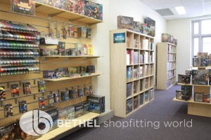 Games Shop Slat Wall Glass Showcases Counters 42