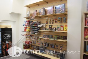 Games Shop Slat Wall Glass Showcases Counters 31