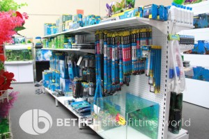 Pet Aquarium Shelving Shopfitting Racking t