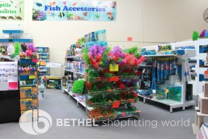 Pet Aquarium Shelving Shopfitting Racking u