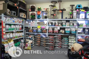 Pet Aquarium Shelving Shopfitting Racking n