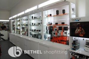 Custom Made Glass Display Cabinet Showcases 01