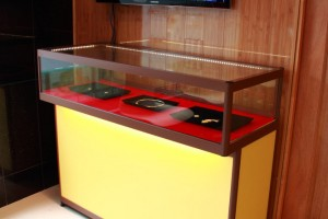 Custom Made Display Cabinet Glass Counters a