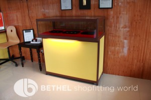 Custom Made Display Cabinet Glass Counters 2