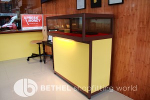 Custom Made Display Cabinet Glass Counters 3