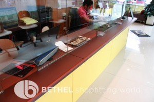 Custom Made Display Cabinet Glass Counters 9