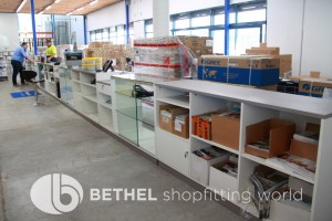 Service Counters Shelving Display Cabinet10