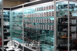 Hobby Store Shelving Glass Showcases Counters 06