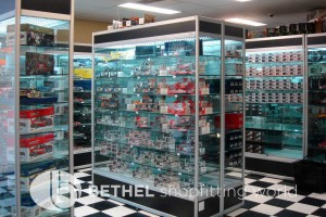 Hobby Store Shelving Glass Showcases Counters 07