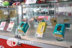 Mobile Phone Glass Display Counters Showcases 2