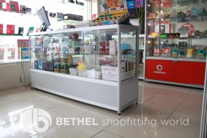 Mobile Phone Glass Display Counters Showcases 5