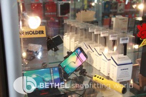 Mobile Phone Glass Display Counters Showcases 13