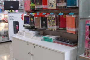 Mobile Phone Glass Display Counters Showcases c