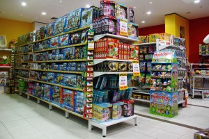 Bethel Shopfitting World supplies to many Toy Stores in the country, besides ToyWorlds, we also supply to many independent Toy stores, such as Uncle Petes, ToyMate, Casey's Toys and many others. The shelving system used here are: SYS-C Standard Duty Pegboard Shelving SYS-W Long Span Warehouse...