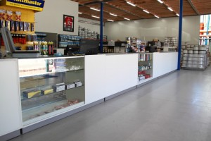 Many wholesale business also requires showroom display of their products, and Bethel Shopfitting World specialized in showroom display counters. Special thanks to Blue Star Air Conditioning and Intertrading for showcase photos here. The shopfitting products used here are: Retail Counters...