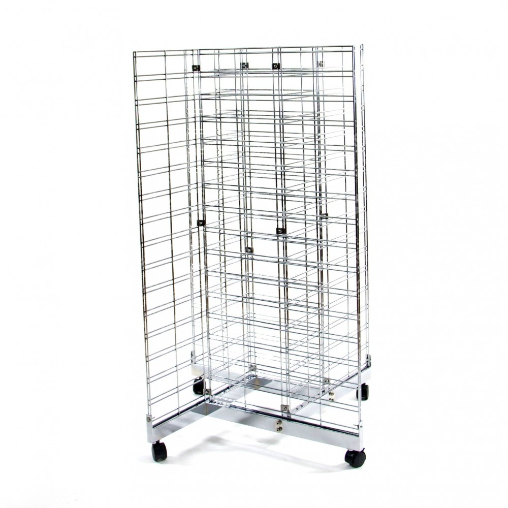 4 Way Grid Mesh Stand with Base