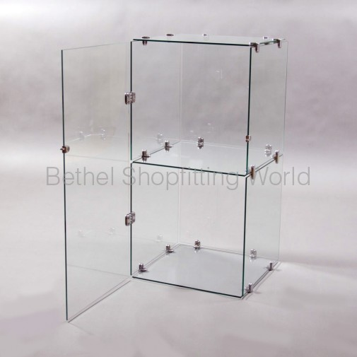 Glass Door For 2 High Cube Unit Bethel Shopfitting World