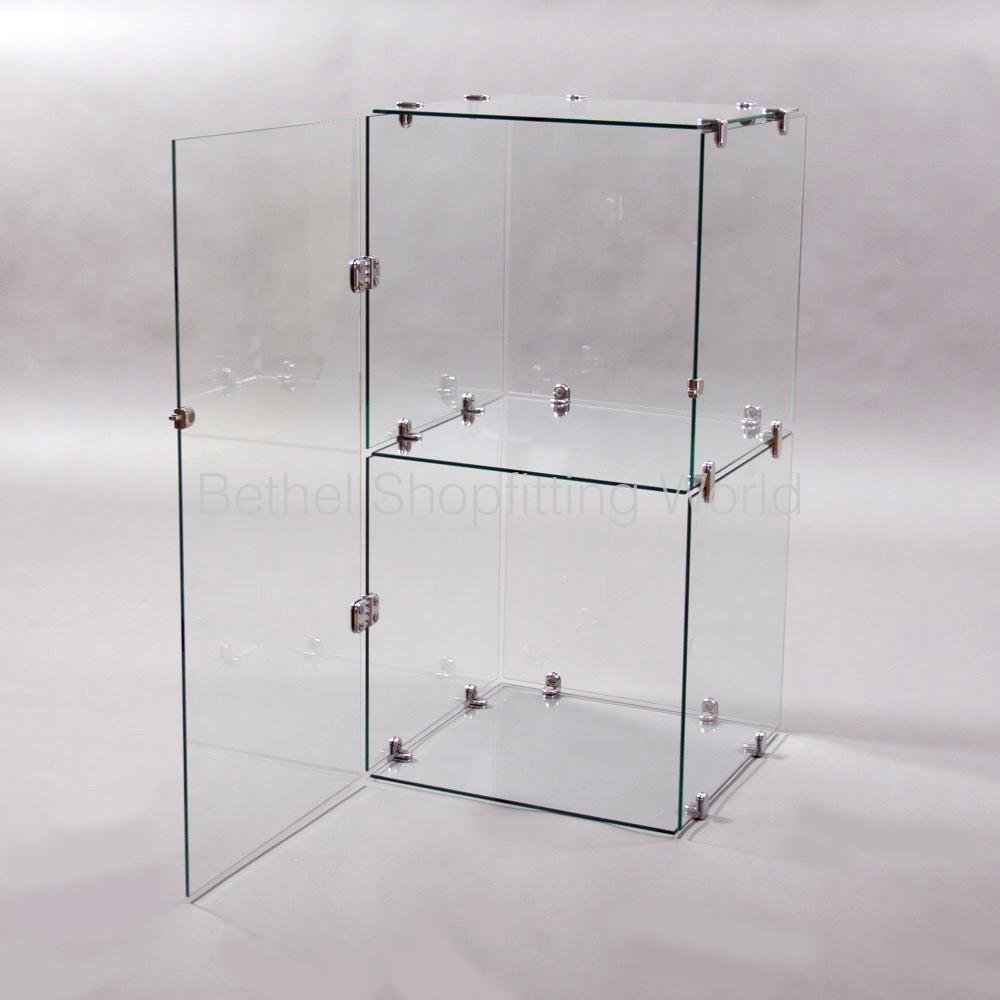 Glass Door For 2 High Cube Unit Bethel Shopfitting World