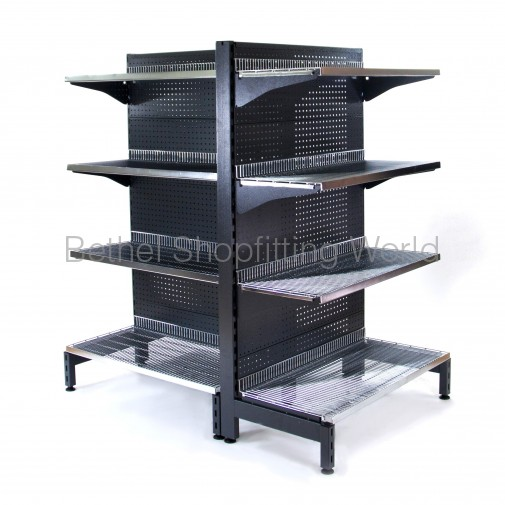Chrome Wire Feature End Shelving