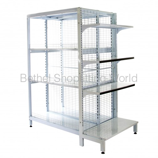 Feature End Shelving