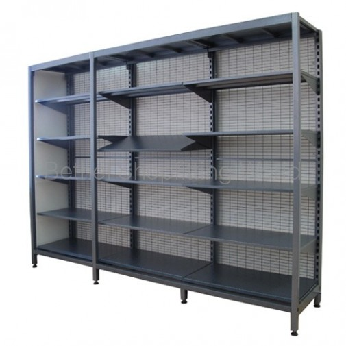 Single Sided Shelving