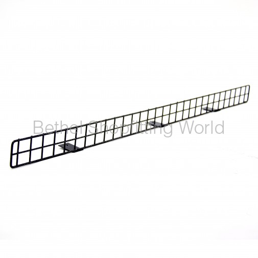 Wire Front Solid Shelves