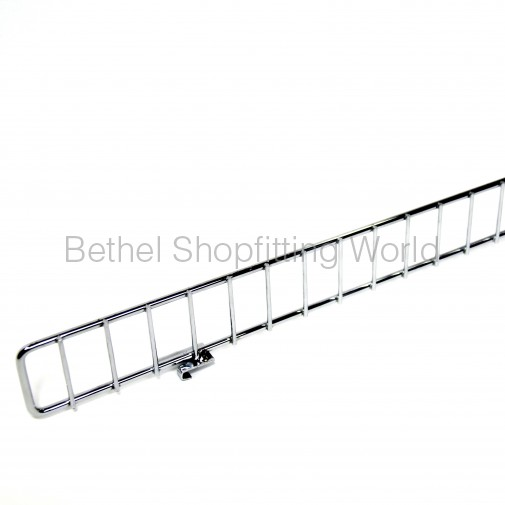 Wire Front Chrome Wire Shelves