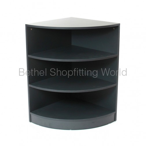 Corner Counter Charcoal Grey