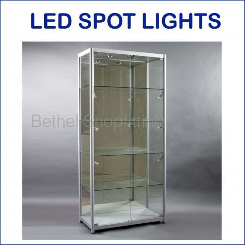 BGS-V-19 Luxury Fully Visible Glass Showcase