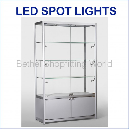 BGS-VS-19 Luxury Glass Showcase with Storage