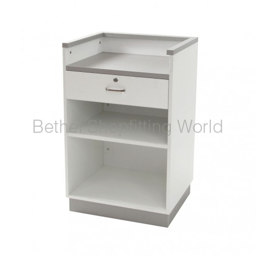 Cash Register Counter with Draw Grey Top