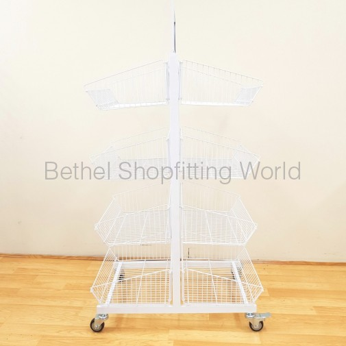 8 Basket Double Sided Stand ( SG-C29 )