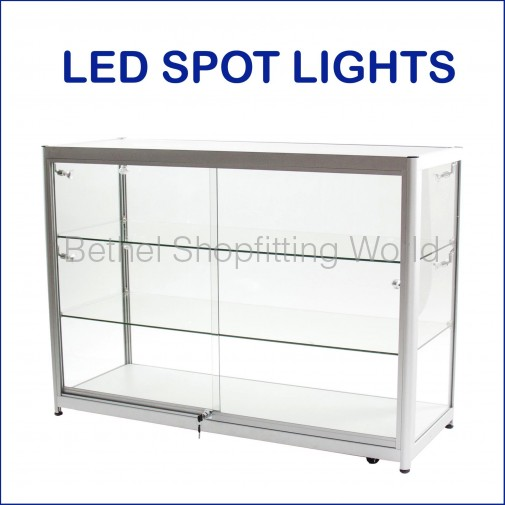 BGS-C Fully Visible Glass Display Counter